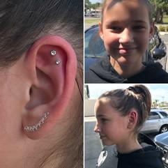 Double Helix Piercings