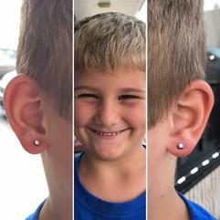 Lobe Piercings
