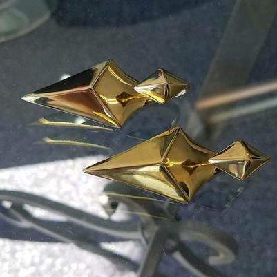 Tawapa 'Bird Of Prey' Brass Ear Weights