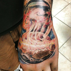 Solar System on the Hand