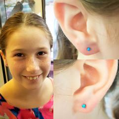 Lobes Piercings