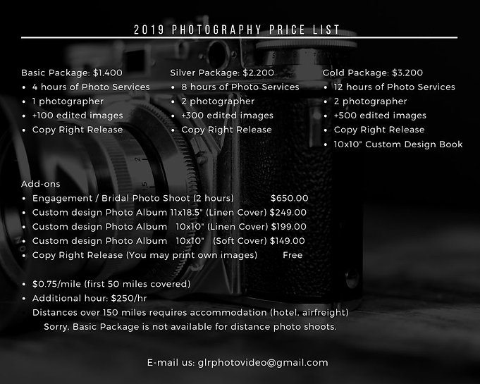 GLR Photography & Video - Photography Ra