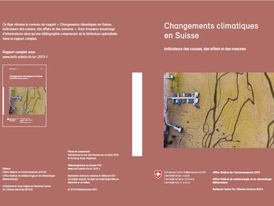 Changements climatiques en Suisse