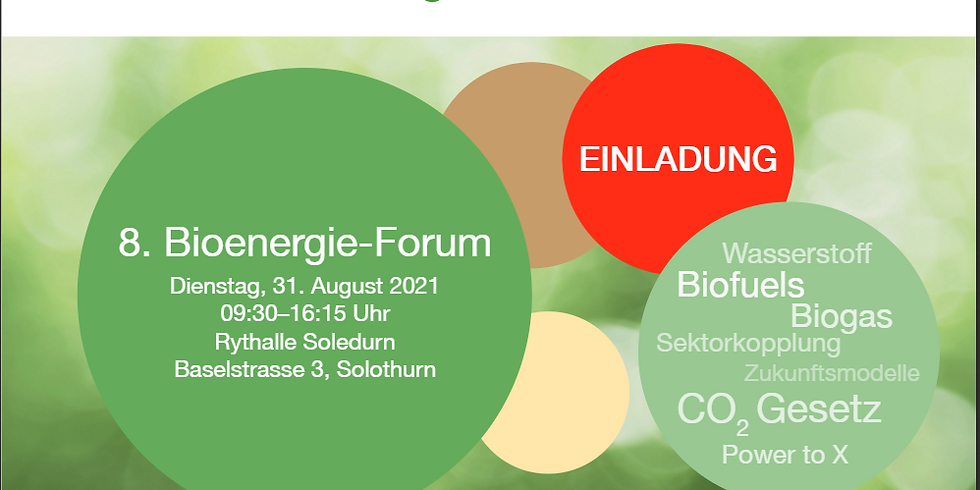 8. Bioenergie-Forum