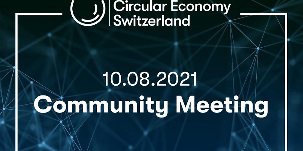 Circular Economy Switzerland Community Meeting