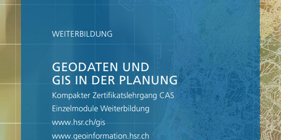 CAS Geodaten und GIS in der Planung