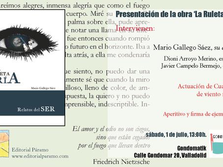 Presentación de 'La Ruleta fría' en Valladolid