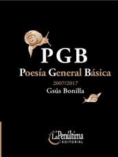 PGB poesía general básica