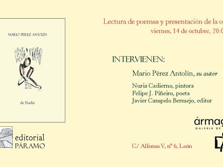 Presentación de 'De Nadie' en León