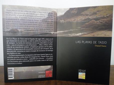 Las playas de Tasio, narrativa histórica (y más) para nuestro catálogo