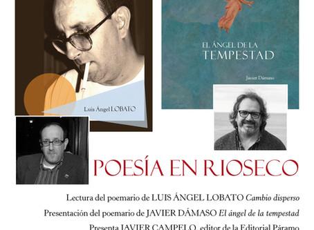 Javier Dámaso y Luis Ángel Lobato leen en Rioseco
