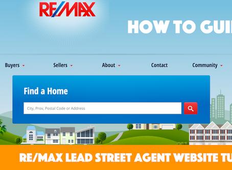 REMAX Agent Website Tutorials
