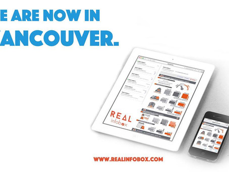We are now in Vancouver www.realinfobox.com