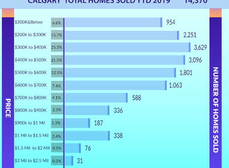 How many homes were sold this year?