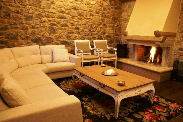 Guesthouse living room