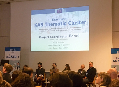 EQUALvet's experience from KA3 Cluster Meeting