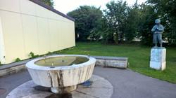 Brunnen beim Kindergarten