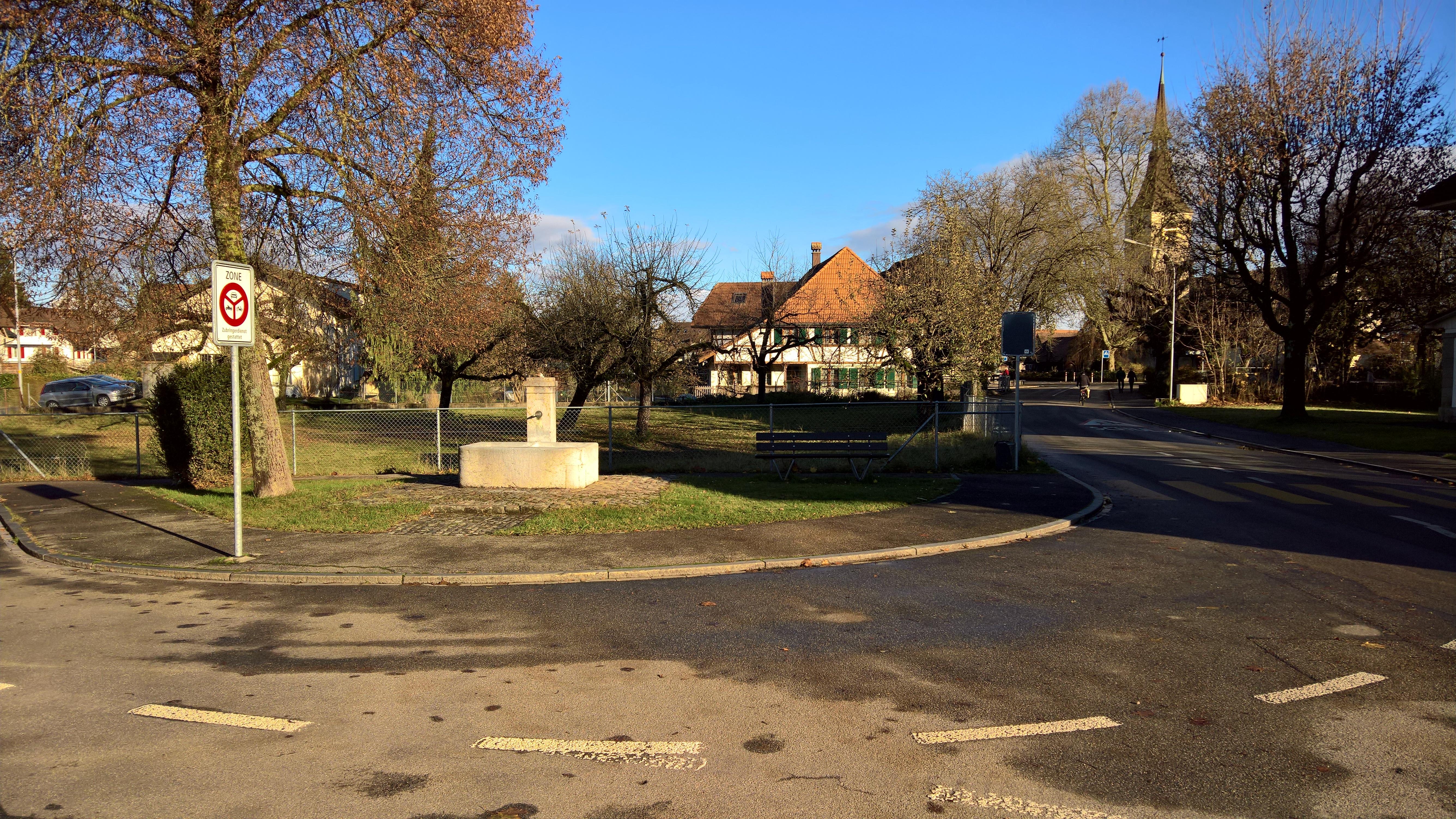 Der Dorfbrunnen