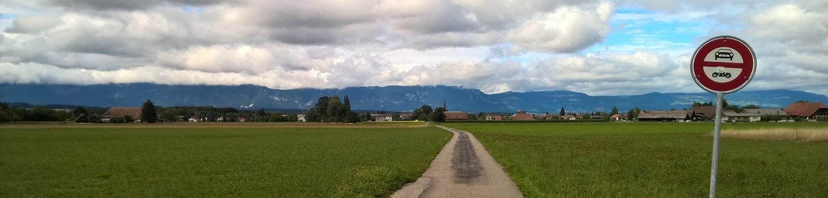 Ansicht von Kirchberg her
