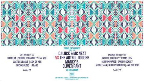 DJ Set at Egg - Friday 24th August