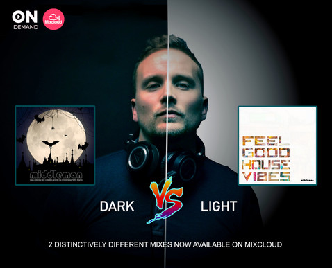 Dark Vs Light - 2 DJ Set Compilation