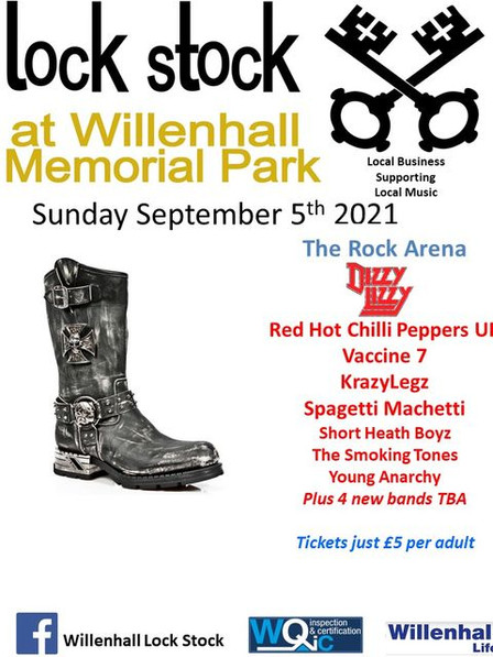 Expect to see some fabulous Midland based bands
