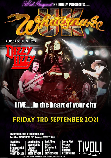 Get ready for a night of Retro Rock !