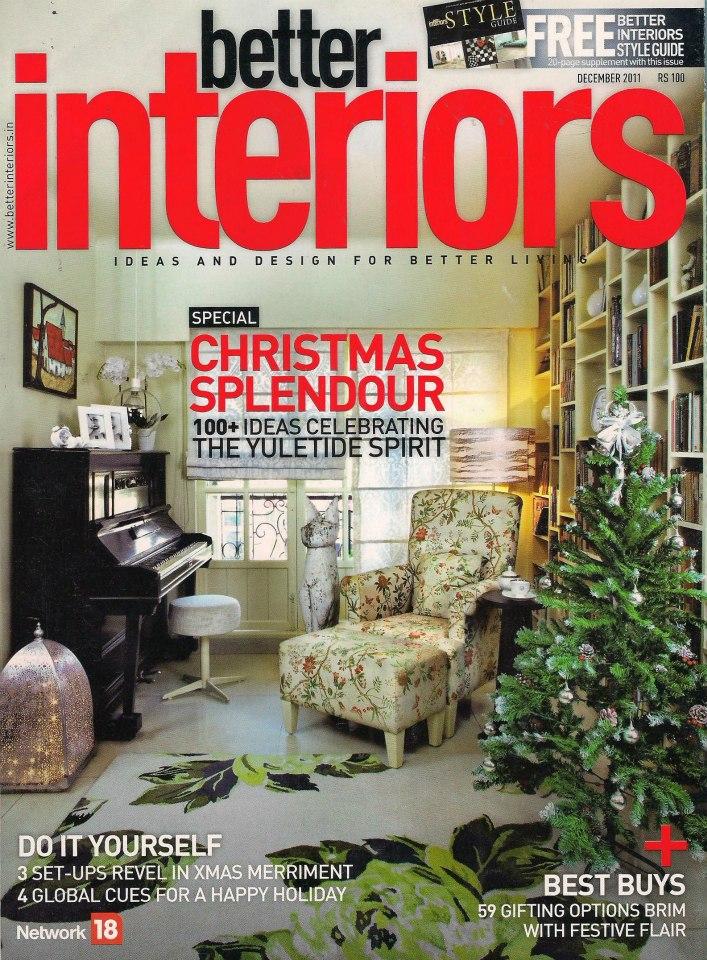 BETTER INTERIORS - DECEMBER 2011