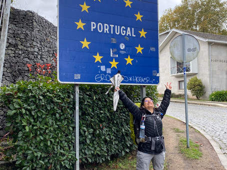 """I hiked Portugal"" 13 Miles to Tui, Spain"