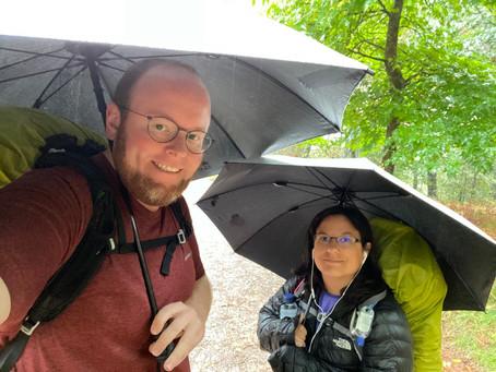 9 Miles - Day 4 of Relentless Rain