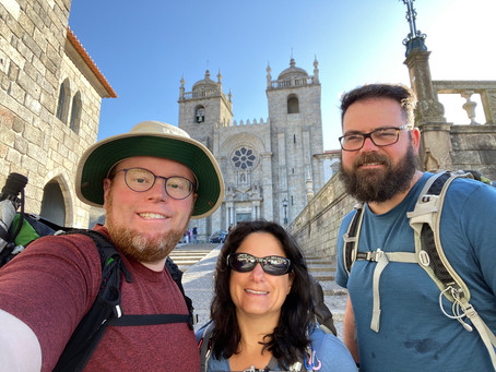 Our Camino Begins in Porto!