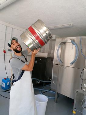 Abfüllen Brauerei Die Bergbrauer