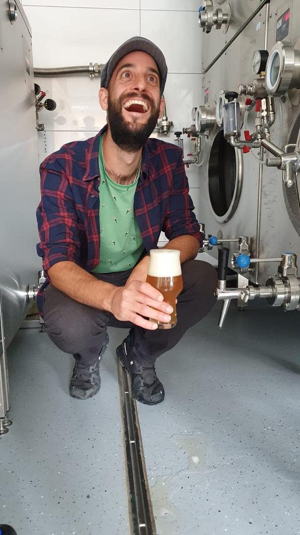 Gutes Bier macht gute Laune