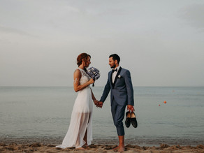 Edu & Valentina - Wedding on the beach in San Lorenzo