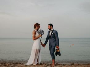 Edu & Valentina - Wedding on the beach in San Lorenzo