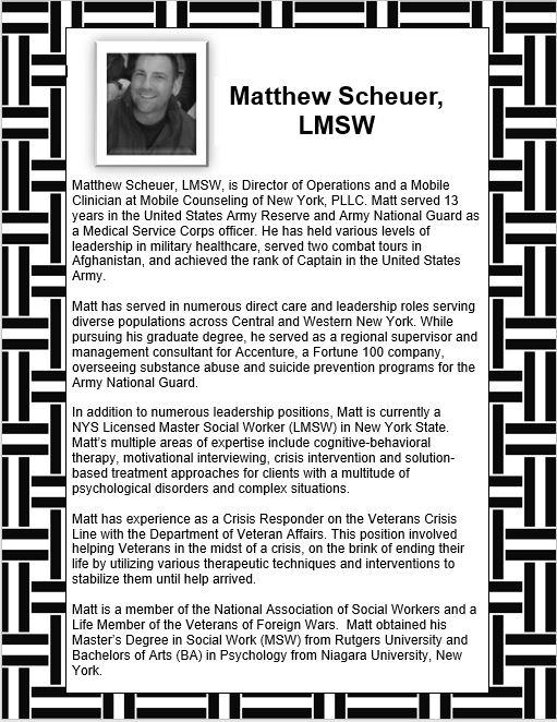 Matthew Scheuer