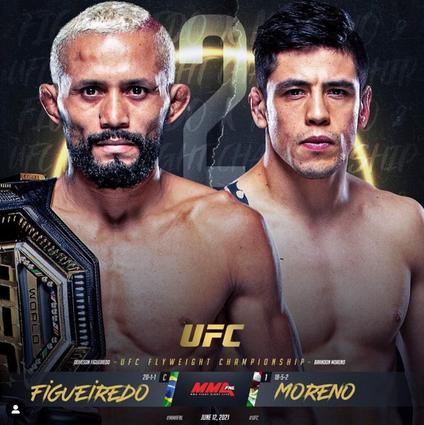 Brandon Moreno vs Figueiredo
