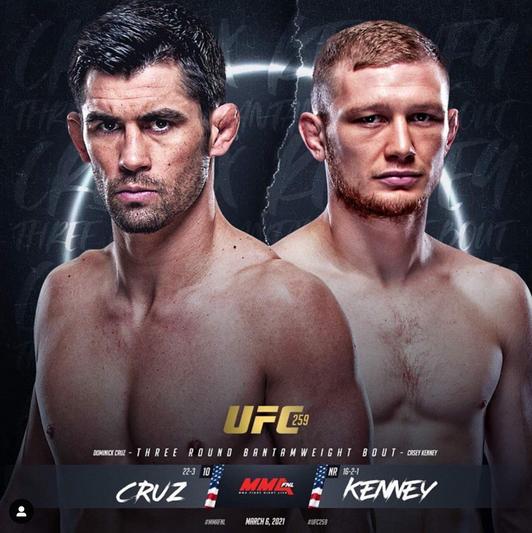 Casey Kenny vs Cruz