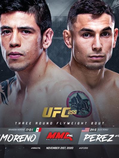 Brandon Moreno vs Alex Perez