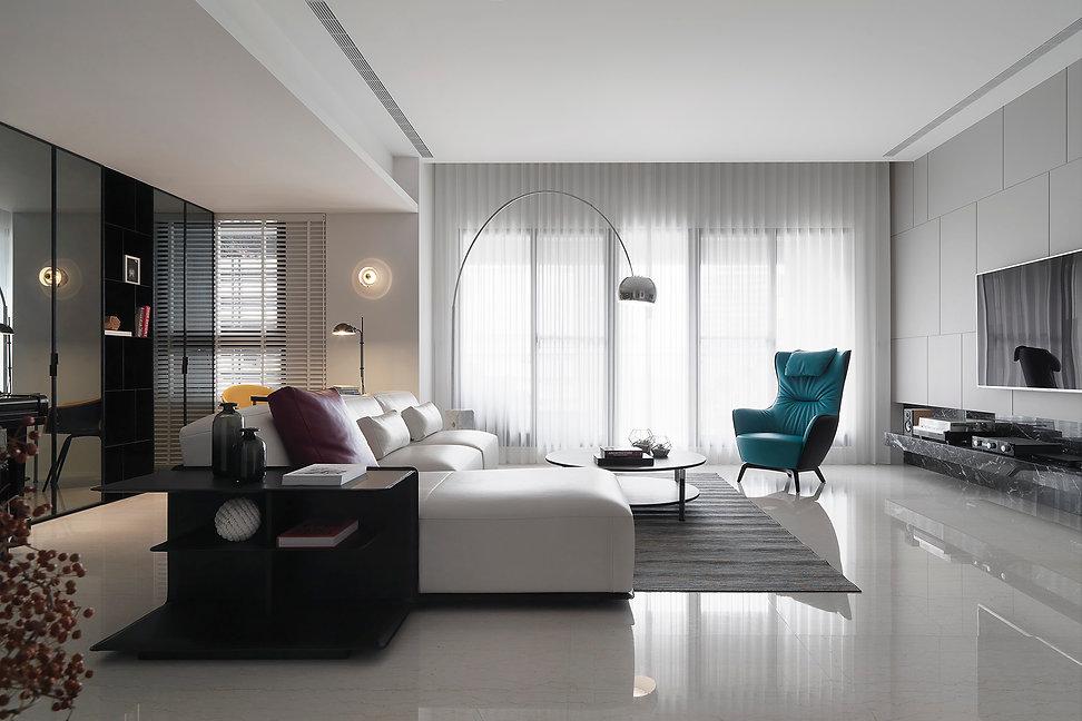 White Elegant Residence
