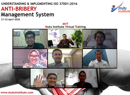 PUBLIK TRAININGUNDERSTANDING AND IMPLEMENTING ISO 37001:2016