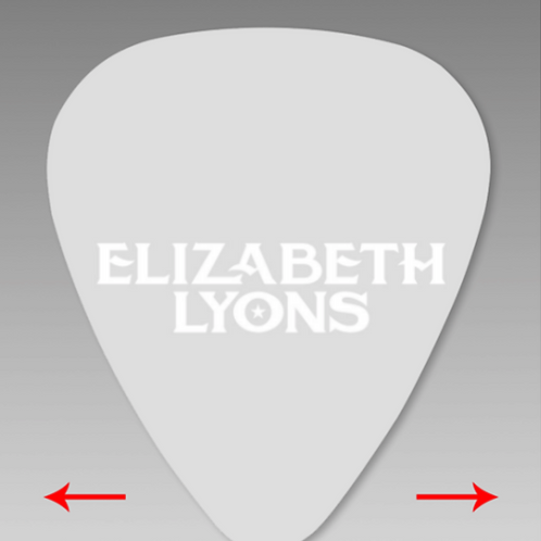 ELIZABETH LYONS 5-PACK GUITAR PICKS