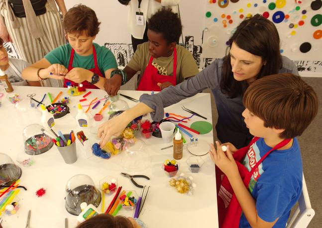 Miniature Worlds Workshop at Art Dubai