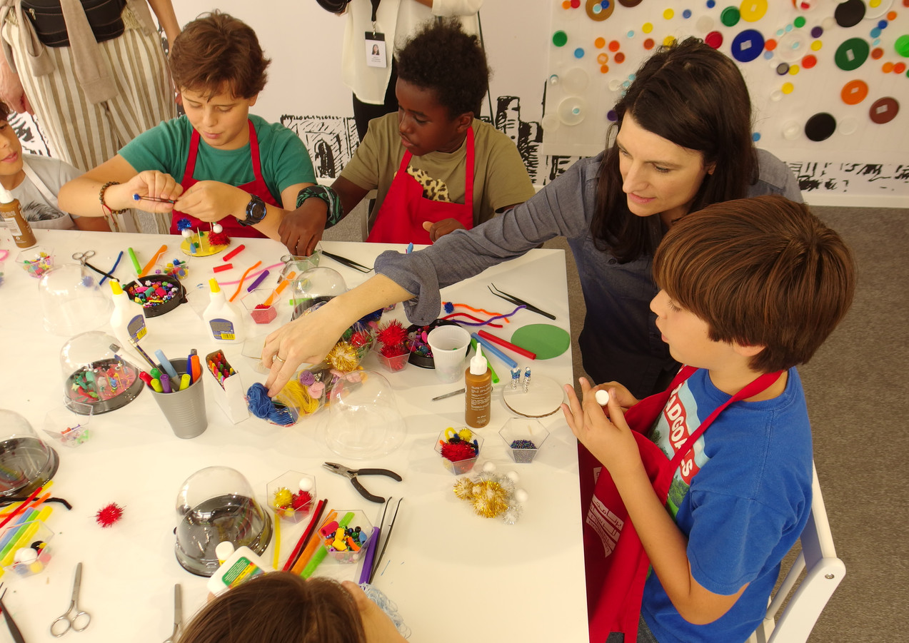 Miniature Worlds Workshop at Art Dubai
