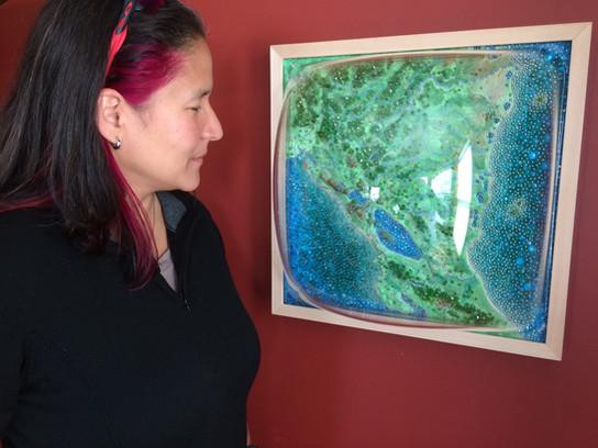 Sally Curcio, Nicaragua (Motherland) commissioned by Marta Martinez
