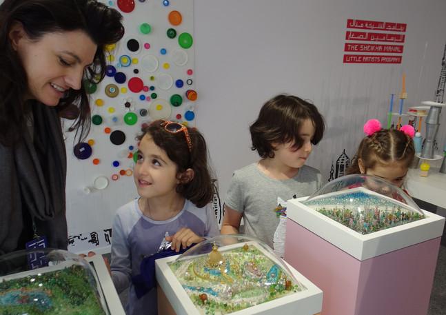 Sally Curcio's Bubble Sculptures at Art Dubai