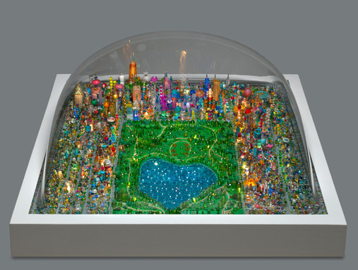 Summer in Central Park Bubble Sculpture Commission, Hassenfeld Children's Hospital at NYU Langone