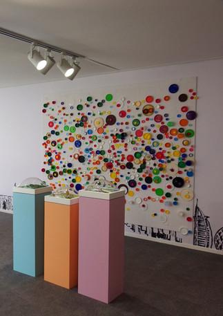 Workshops at Art Dubai as part of the Sheikha Manal Little Artists Program