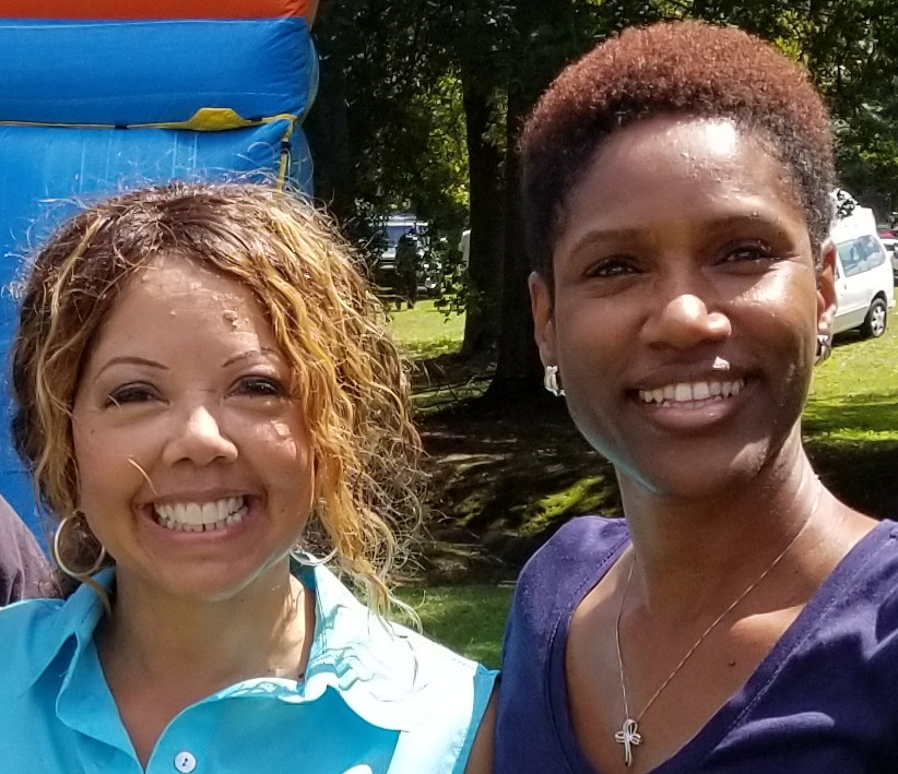 Rep. Lucy McBath and Tamara Johnson-Shealey