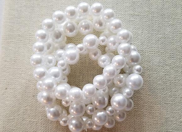 White Classic Bracelets